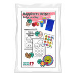 Happiness Helper Badge in a Bag