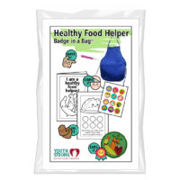 Healthy Food Helper Badge in a Bag