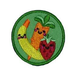 Healthy Food Helper Service Patch from Youth Strong