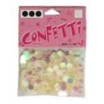 Iridescent Round Confetti