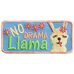 No Drama Llama Fun Patch