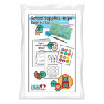School Supply Helper Badge in a Bag