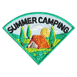 Scout Summer Camping Fun Patch