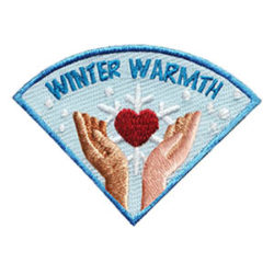 Winter Warmth Service Patch