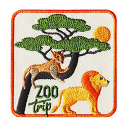 Zoo Trip Iron On Zoo Trip Fun Patch