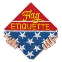 Flag Etiquette Patch
