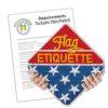 Flag Etiquette Patch Program