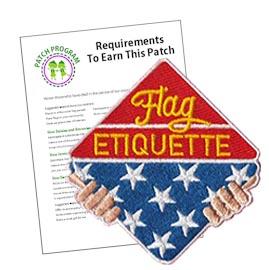 Flag Etiquette Patch Program®