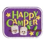 Happy Camper Fun Patch