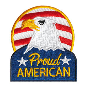 Proud American Patch. 