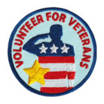 Volunteer for Veterans Service Patch from Youth Squad