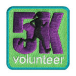 Girl Scout 5K Volunteer Fun Patch