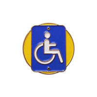 Accessibility Delegate Pin for Community Service from Youth Strong