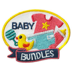 Girl Scout Baby Bundles Fun Patch
