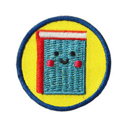 Book Helper Service Patch from Youth Squad