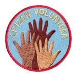 Citizen Volunteer Service Patch from Youth Squad