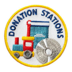 Donation Stations Service Patch from Youth Squad