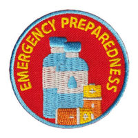 Emergency Preparedness Service Patch from Youth Squad