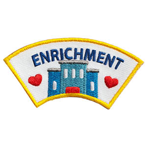 "The Enrichment Advocate Service Patch is from the Youth Squad Community Patch Program®. MakingFriends®.com partnered with Youth Squad to bring you a rewarding community service program with step-by-step instructions for every age level to make a meaningful impact in their community. This is one of our ""Advocate"" level patches which are geared toward teens. Become a Community Advocate by earning all 5 community advocate level patches. via @gsleader411"