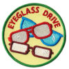 Eyeglass Drive Service Patch from Youth Strong