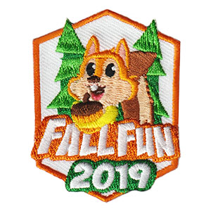 Fall Patch 2019 - Squirrel. 