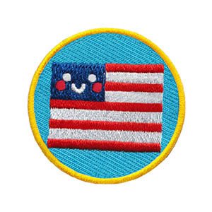 The Flag Helper Service Patch. Your little ones will enjoy earning this patch and be just like the big kids! The Helping Hands level is specifically created for 3 and 4 year old girls and boys or anyone with the abilities of a preschooler. Perfect for tag alongs at your troop meeting. Part of the Community Patch program from Youth Squad and MakingFriends®.com. via @gsleader411