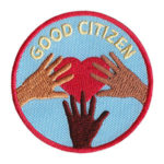 Good Citizen Service Patch from Youth Strong