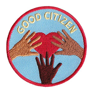 Good Citizen Service Patch from Youth Squad