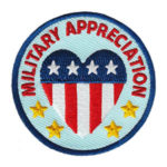 Military Appreciation Service Patch from Youth Strong