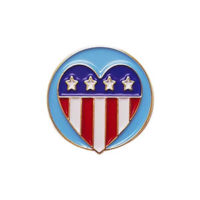 Patriotism Delegate Pin for Community Service from Youth Strong
