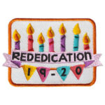 Girl Scout Rededication 2019 Fun Patch
