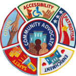 Community Advocate Service Patches from Youth Squad