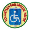 Volunteer for Special Needs Service Patch from Youth Squad