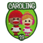 Caroling 2019 Patch