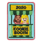 Girl Scout 2020 Cookie Booth Patch