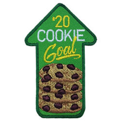 Girl Scout 2020 Cookie Goal Patch