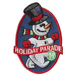 Holiday Parade 2019 Fun Patch