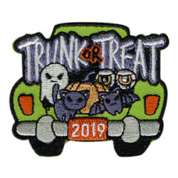 Trunk or Treat 2019 Patch