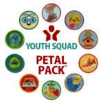 Youth Squad Petal Pack Helper Patches