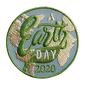 Earth Day 2020 Patch from MakingFriends®.com. Celebrate Earth Day in 2020 with your troop. Your scouts can participate in something as simple as a park clean up or they can plan a take action project that makes a real difference in your community. Take a look at some craft and hands on Earth Day projects on our page Earth Day. Your scouts will love this this eye-catching earth patch from MakingFriends®.com. via @gsleader411