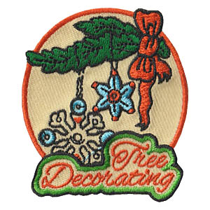 Tree Decorating Fun Patch