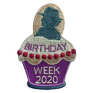Birthday Week 2020 Patch. GS Week includes the GS Birthday which is March 12th. It begins with GS Sunday and ends with GS Sabbath. Celebrate with your troop and give your girls the Birthday Week patch from MakingFriends®.com. Our page Scout Holidays has ideas to plan your celebration as well as a link to our page Juliette Gordon Low which has information to help teach your scouts about the founder of Girl Scouts*. via @gsleader411