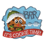 Girl Scout Cookie Time Patch