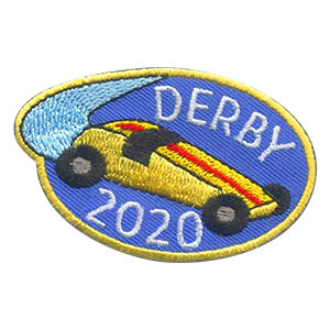 Derby 2020 Patch. When your car race event is over, your scouts will love the Derby 2020 patch from MakingFriends®.com! You can get ideas and tips for your derby in our blog Special Guy and Girls Derby Planning. via @gsleader411