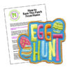 Girl Scout Egg Hunt Fun Patch Program