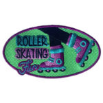 Roller Skating Fun Patch