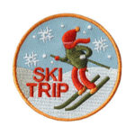 Ski Trip Fun Patch