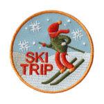 Ski Trip Fun Patch