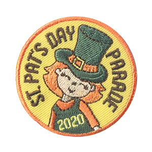 St. Patrick's Day Parade 2020 Patch. Our St. Patrick's Day 2020 patch is a fun way to remember marching in this year's parade. Available at MakingFriends®.com. Find ideas such as the shoes, hats, banner kits and friendship swaps to get ready for your parade on our page St Patrick's Day. via @gsleader411