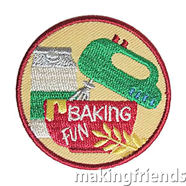 Baking Fun Badge via @gsleader411